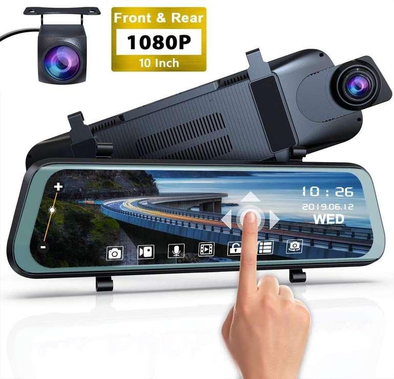 """Yundoo 1080P Dual Dashcam mit 4"""" LCD Bildschirm für 59,99€ inkl. Versand (statt 80€)"""