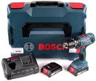 Bosch GSB 18 V-21 - Schlagbohrschrauber + Akkus + Ladegerät je 167,46€ inkl. VSK
