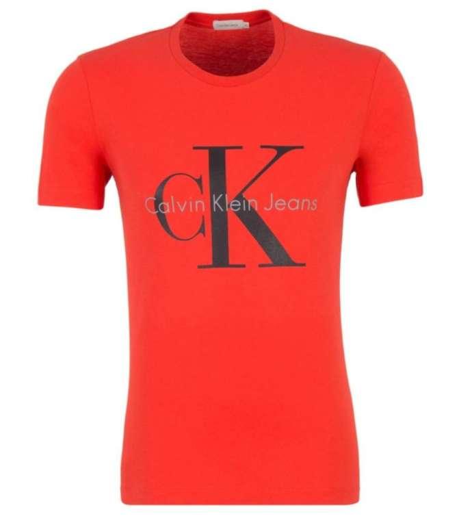 Calvin Klein Herren Logo T-Shirt für 16,99€ inkl. Versand (statt 37€)