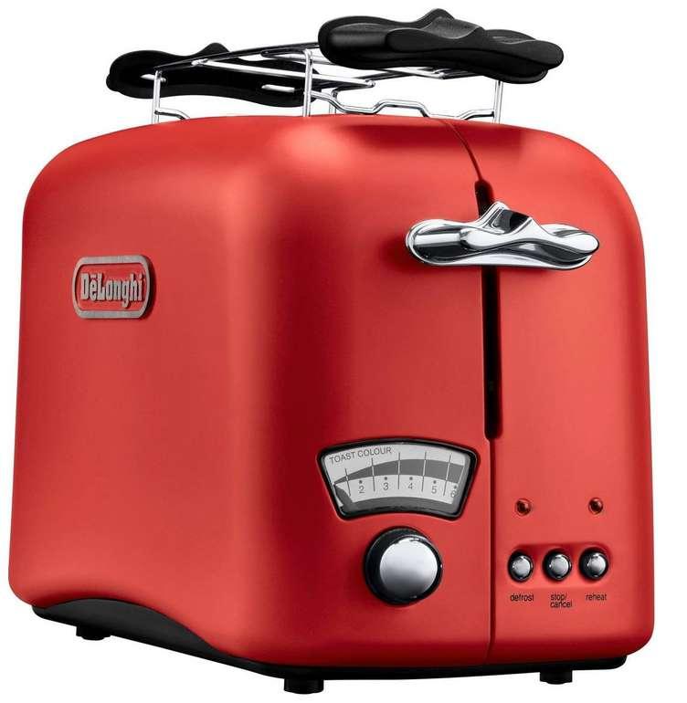 De'Longhi Argento Toaster CTO21.R1 in 3 Farben für 44,99€ inkl. VSK (statt 61€)