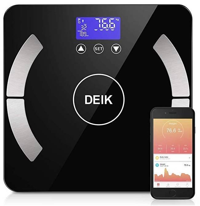 Deik Bluetooth Körperfettwaage mit App für 13,98€ inkl. Prime (statt 23€) - Prime!