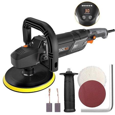 Tacklife PPGJ01A 1500W Poliermaschine mit LED-Display für 49,99€ (statt 69€)