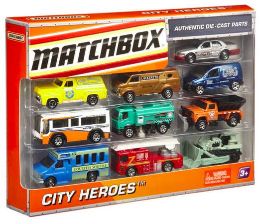 10er Pack Matchbox Lightning-World Autos für 10,94€ inkl. Versand (statt 15€)