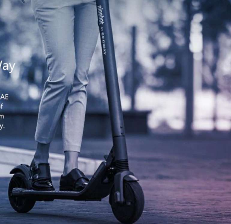 Ninebot Segway ES2 Electric Scooter Roller (Xiaomi Mijia) für 321,09€ inkl. Versand (UK-Lager!)