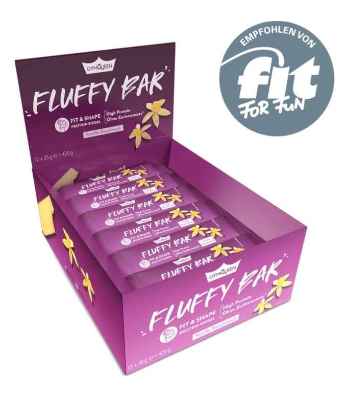 12er Pack Fit & Shape Fluffy Protein Riegel für 13,99€ inkl. Versand (statt 18€) - MHD-Ware!