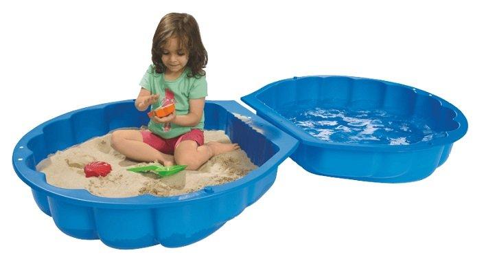 Big Sand- und Wassermuschel in Blau für 11,99€ bei Abholung (statt 18€)