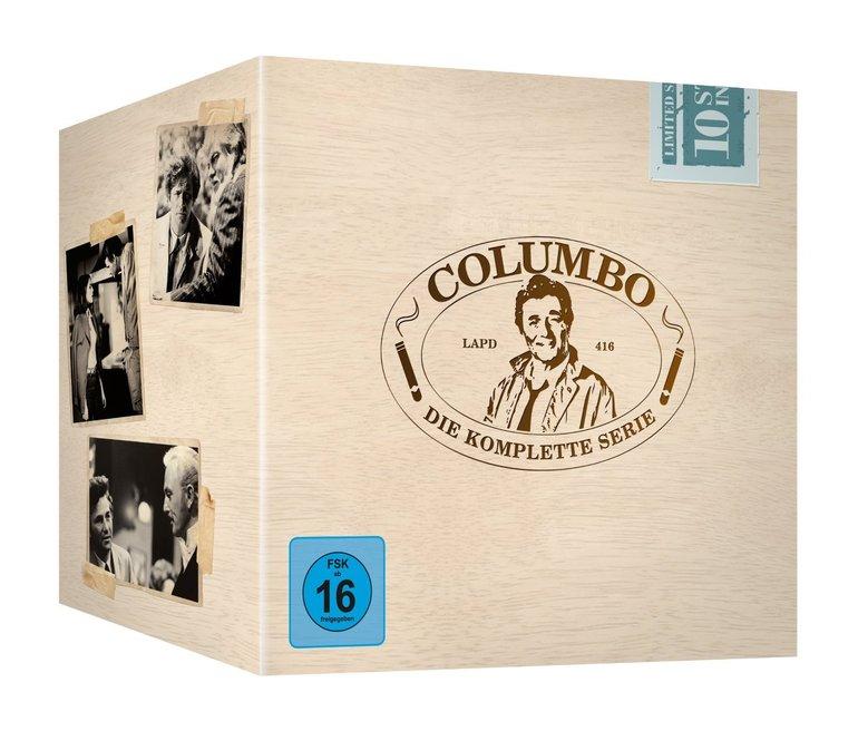 Columbo - Die komplette Serie (35 Discs) auf DVD für nur 34,99€