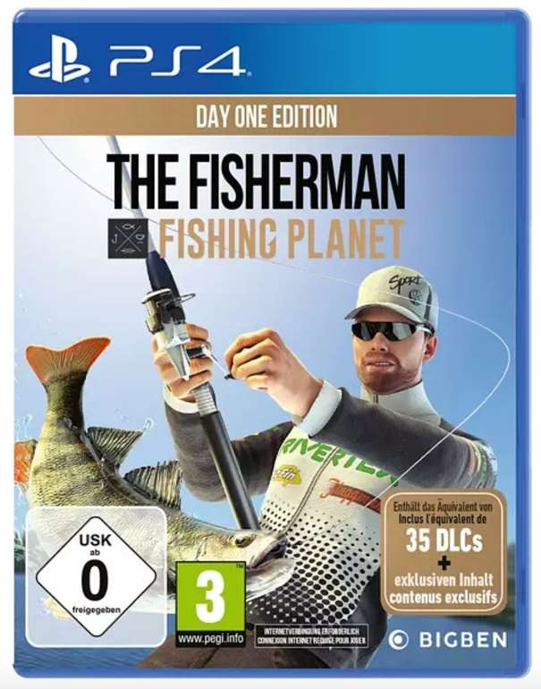 Viele tolle Spiele Angebote bei Saturn - z.B. The Fisherman - Fishing Planet (Day One Edition) [PS4] für 10,50€