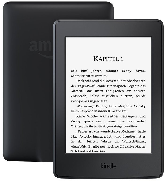 Kindle Paperwhite (2015, 4GB, WLAN) nur 79€ inkl. Versand