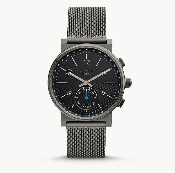 Fossil Cyber Monday mit 30% Rabatt auf Sale, z.B. Hybrid Smartwatch 'Barstow' für 83,30€