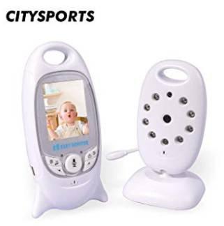 CitySports Wireless Babyphone mit Nachtsicht & Weitwinkelansicht für 30,99€