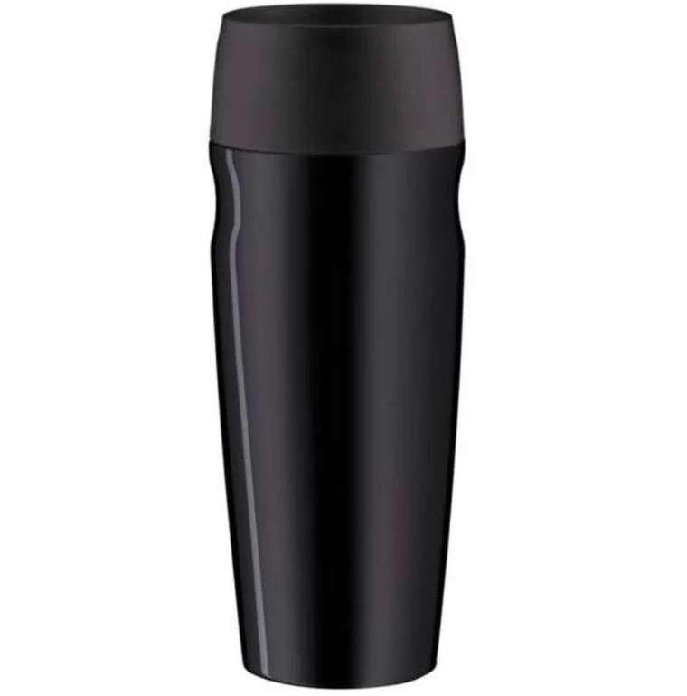 2er Pack Alfi isoMug Edelstahl Thermobecher (Edelstahl, je 350ml, schwappsicher, 5 Std. heiß, 10 Std. kalt) für 14,99€
