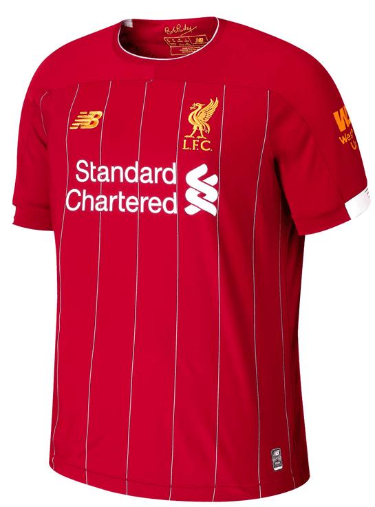 Liverpool Sale bei Geomix, z.B. Home Trikot 2019/2020 für 51,96€ (statt 65€)