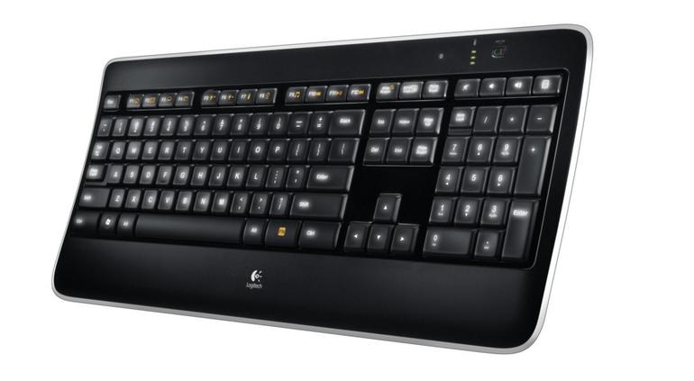 Logitech K800 – beleuchtete wireless Tastatur für 65€ inkl. VSK (statt 87,78€)