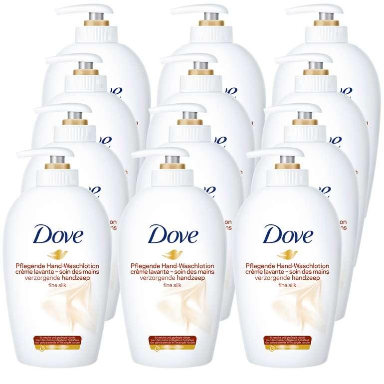 12x Dove Seife Flüssigseife (250 ml) für 17,99€ inkl. Versand (statt 24€)