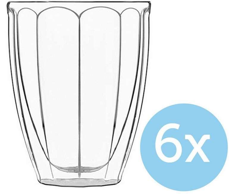 6x Luigi Bormioli Thermische Wassergläser 0,3 L für 23,90€ (statt 77€)