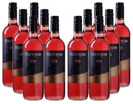 12 Flaschen Pluvium Premium Selection Vino Rosado Rosé-Wein nur 43,83€