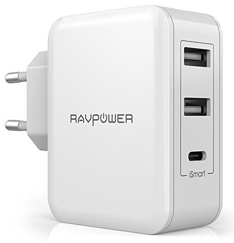 RAVPower 30W USB Type-C Ladegerät mit 3 Ports für 11,19€ inkl. Versand (Prime)