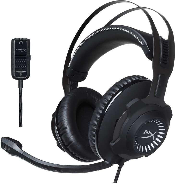 Kingston HyperX Cloud Revolver Gaming-Headset 50-mm-Treiber abnehmbares Mikrofon für 54,98€ (statt 100€)