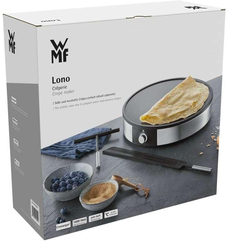 WMF Lono Crêpesmaker - Crêpes-Platte (Ø 33cm, 1500W, antihaftbeschichtet) für 58,07€ inkl. Versand (statt 66€)