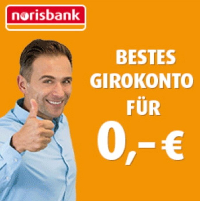 Norisbank Girokonto (inkl. Kreditkarte) + 75€ Eröffnungsprämie