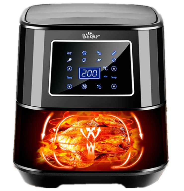 Bear LED Heißluftfritteuse TXG-S5T20 mit 1700 Watt und Alexa-Steuerung für 62,99€inkl. Versand (statt 70€)