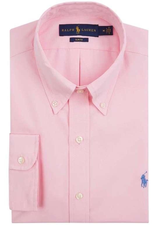 Polo Ralph Lauren Slim Fit Freizeithemd aus Popeline in rosa für je 34,99€ inkl. Versand (statt 70€) - Kundenkarte!