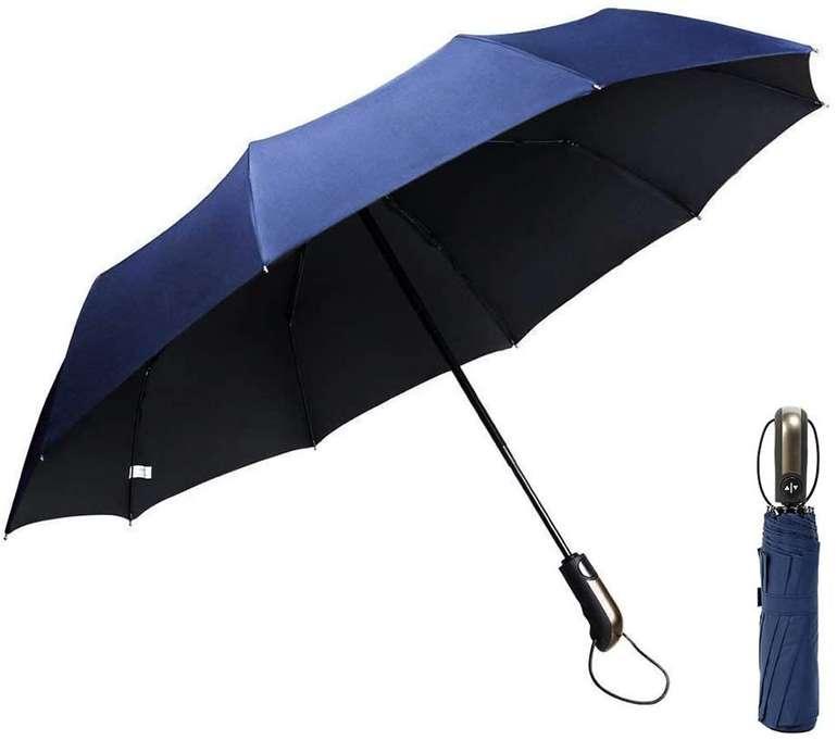 GogoTool Regenschirm (105 cm, 10 Rippen) in 2 Farben für je 9,99€ inkl. Prime Versand (statt 15€)