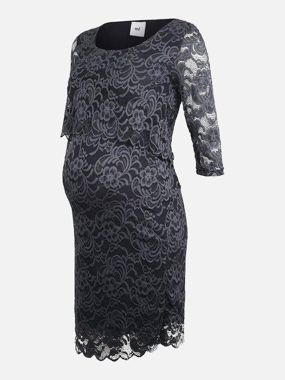 Mamalicious Stillkleid 'Mivane' in marine für 18,85€ inkl. VSK (statt 28€)