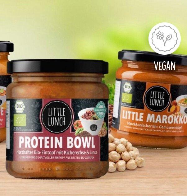 Little Lunch: 2x Bestseller Vegan Box für 26,91€ inkl. Versand (statt 36€)
