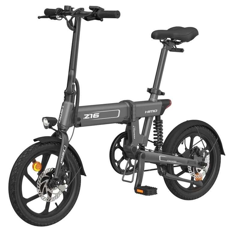 Himo Z16 - faltbares E-Bike (250W Motor, 10 Ah) für 586,49€ inkl. Versand - DE-Lager!