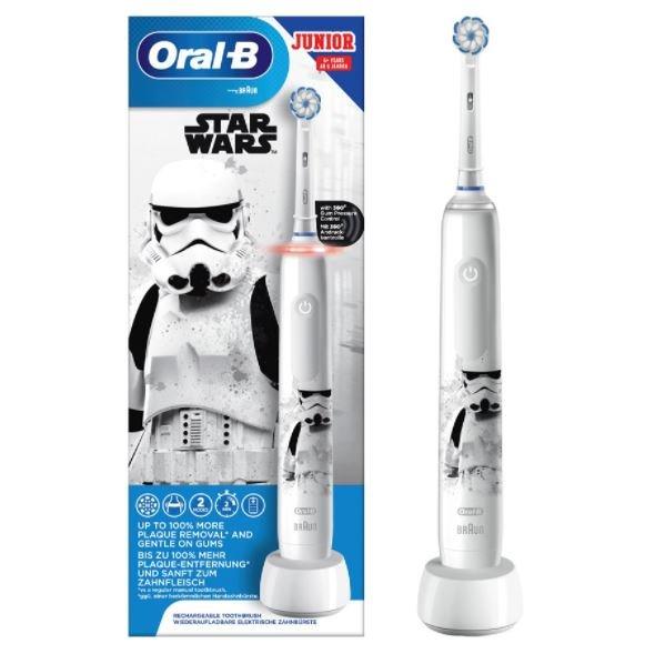 Oral-B Junior Elektrische Zahnbürste Pro 3 Star Wars für 44,39€ inkl. Versand (statt 60€)