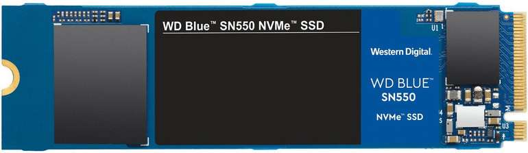 WD Blue SN550 NVMe - Interne SSD mit 1TB Speicher für 109€ inkl. Versand (statt 130€)