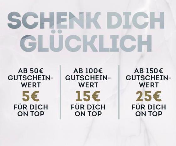 SportScheck Geschenkgutscheine mit bis zu 25€ Bonus on Top