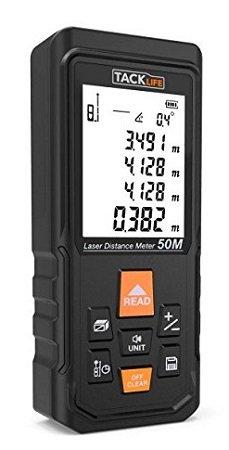 Tacklife S3-50 Laser-Entfernungsmesser mit bis zu 50m für 21,99€ (statt 35€)
