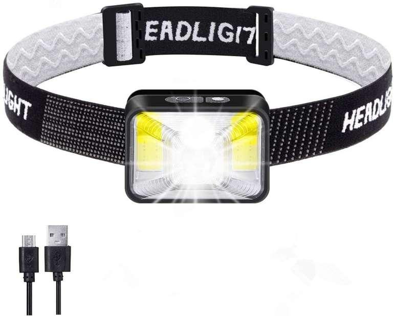 Outerdo wiederaufladbare LED Stirnlampe für 5,49€ inkl. Prime Versand (statt 11€)