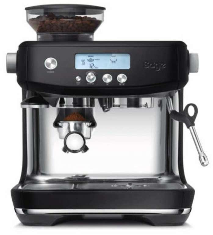 Sage The Barista Pro Espresso-Maschine mit Siebträger in matt schwarz für 569€ (statt 599€)