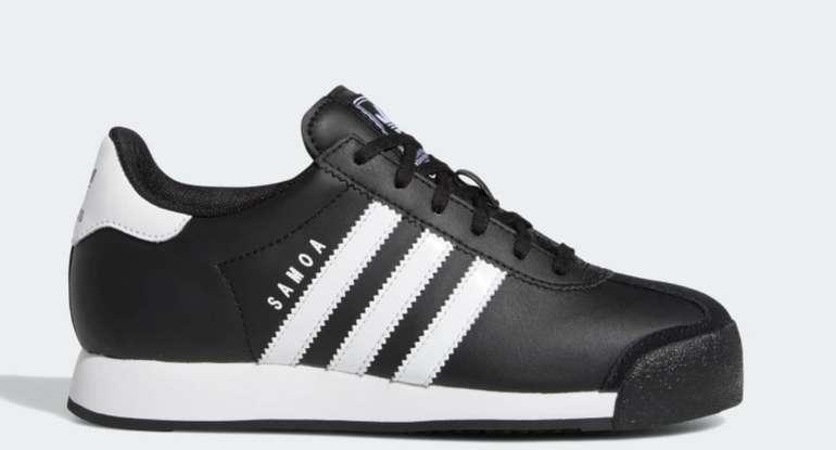 adidas Samoa J Kinder Schuh in Schwarz für 31,50€inkl. Versand (statt 45€)