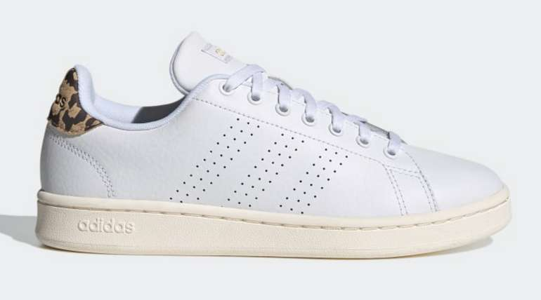 """Adidas Advantage """"White/Leo"""" Damen Sneaker für 38,20€ inkl. Versand (statt 55€)"""