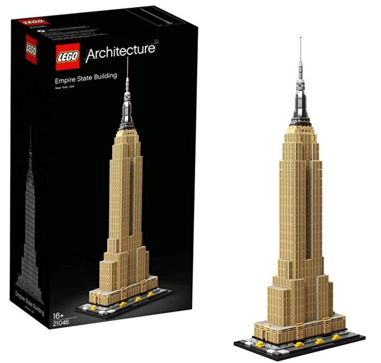 Lego Architecture Empire State Building (21046) für 62,99€ inkl. Versand (statt 71€)