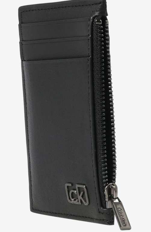 Calvin Klein Portemonnaie in Schwarz für 21,96€inkl. Versand (statt 50€)