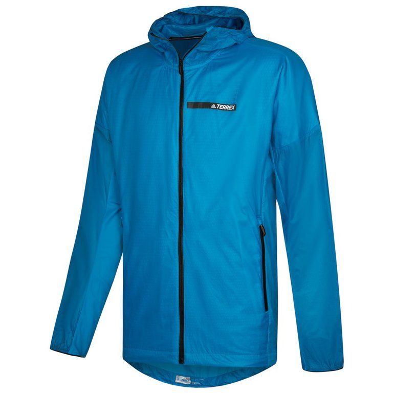 Adidas Terrex Agravic Hooded Alpha Shield Outdoor Windbreaker Jacke für 50,88€