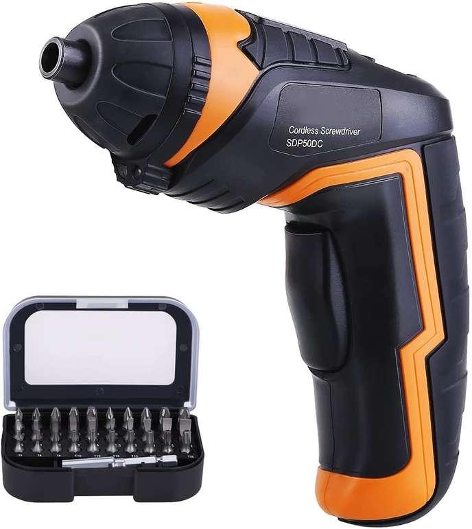 T-tool Mini Akkuschrauber mit LED-Licht (4N·m, 3,6V) für 16,29€ inkl. Versand (statt 33€)