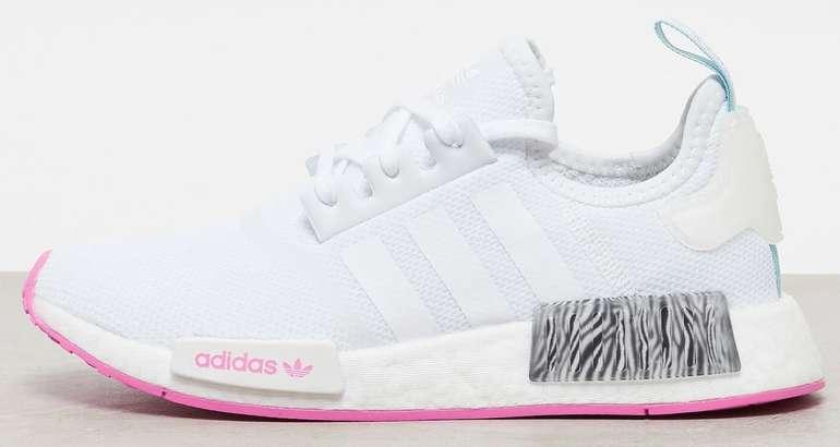 """Adidas Originals NMD_R1 J Damen Sneaker im """"White/Scream Pink""""-Colourway für 87,99€ (statt 100€)"""