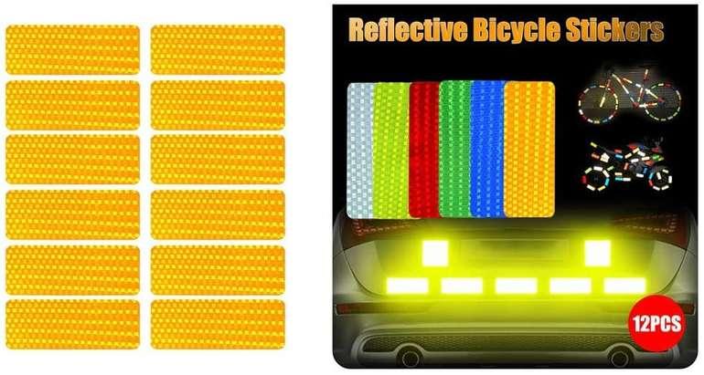 Ciciyoner 12er Pack selbstklebende Reflektoren in 6 Farben für je 3,99€ inkl. Versand (statt 5€)