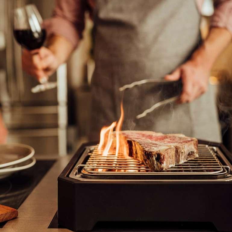 Severin PG 8545 Elektro Beef Steak Hochtemperaturgrill Edelstahl 500°C  für 59,99€ (statt 69€)