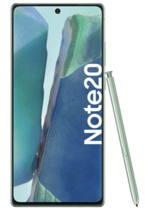 Samsung Galaxy Note 20 mit 256GB Speicher (4,95€) + Vodafone Allnet- und SMS Flat mit 30GB LTE für 30€ mtl.