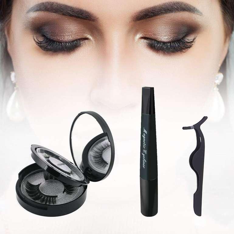 Bath Bombs - Magnetische Wimpern & magnetischer Eyeliner im Set für 8,49€ inkl. Prime Versand
