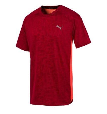 Puma T-Shirt 'Power Vent' in rubinrot für 11,38€ inkl. Versand (statt 24€)