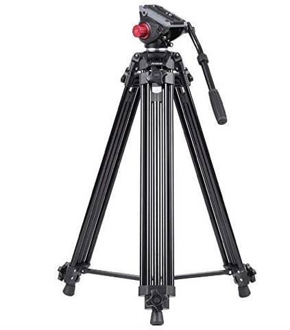 Andoer DSLR Kamera Stativ (170cm, bis 10kg belastbar) für 69,59€ (statt 116€)